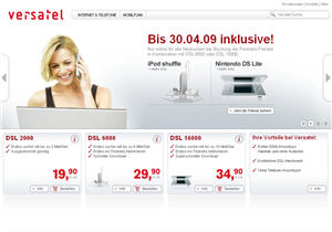 versatel-screenshot
